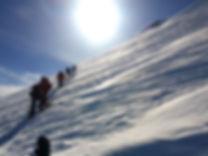 Gipfeletappe am Mt. Kazbek in Georgien