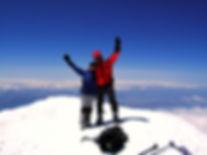 Am Gipfel des Mt. Ararat