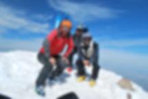 Am Gipfel des Mt. Hasan