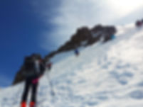 Die Besteigung des Mt. Kazbek in Georgie