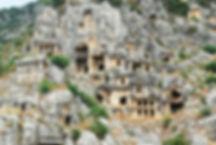Rock tombs of Myra