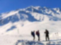 Skitourenam Van See Mt. Artos