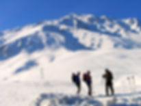 Ski touring Mt. Artos