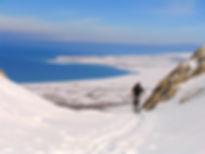 Skitour am Van See