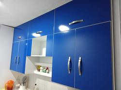 Cocina Azul alto-brillo 2