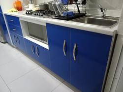 Cocina Azul alto-brillo 3
