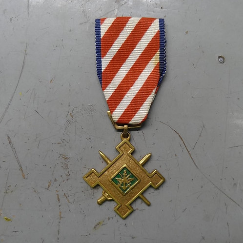 STAFF SERVICE MEDAL - 2ND CLASS - #vmedal6