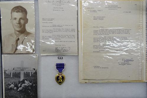 WW2 PURPLE HEART - KIA GROUP - WITH 10K PIN