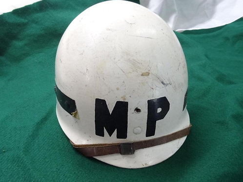 WW2 US ARMY MILITARY POLICE HELMET LINER