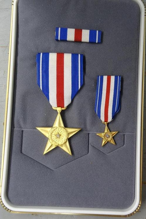 SILVER STAR MEDAL SET