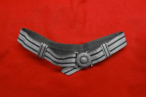 WW2 GERMAN OFFICER'S BROCADE DRESS BELT