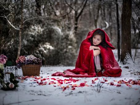 雪と赤ずきん