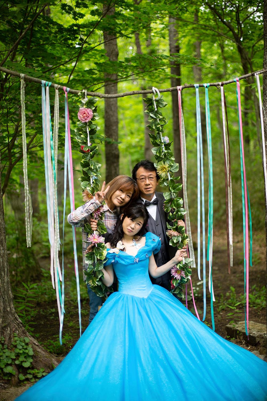 撮影様子 My Style Garden Studio