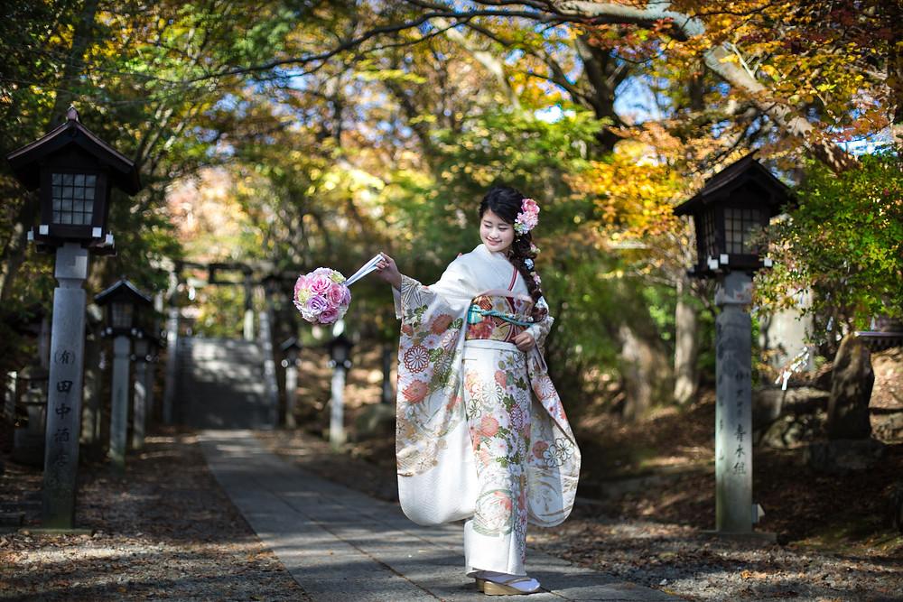 成人前撮り 那須温泉神社