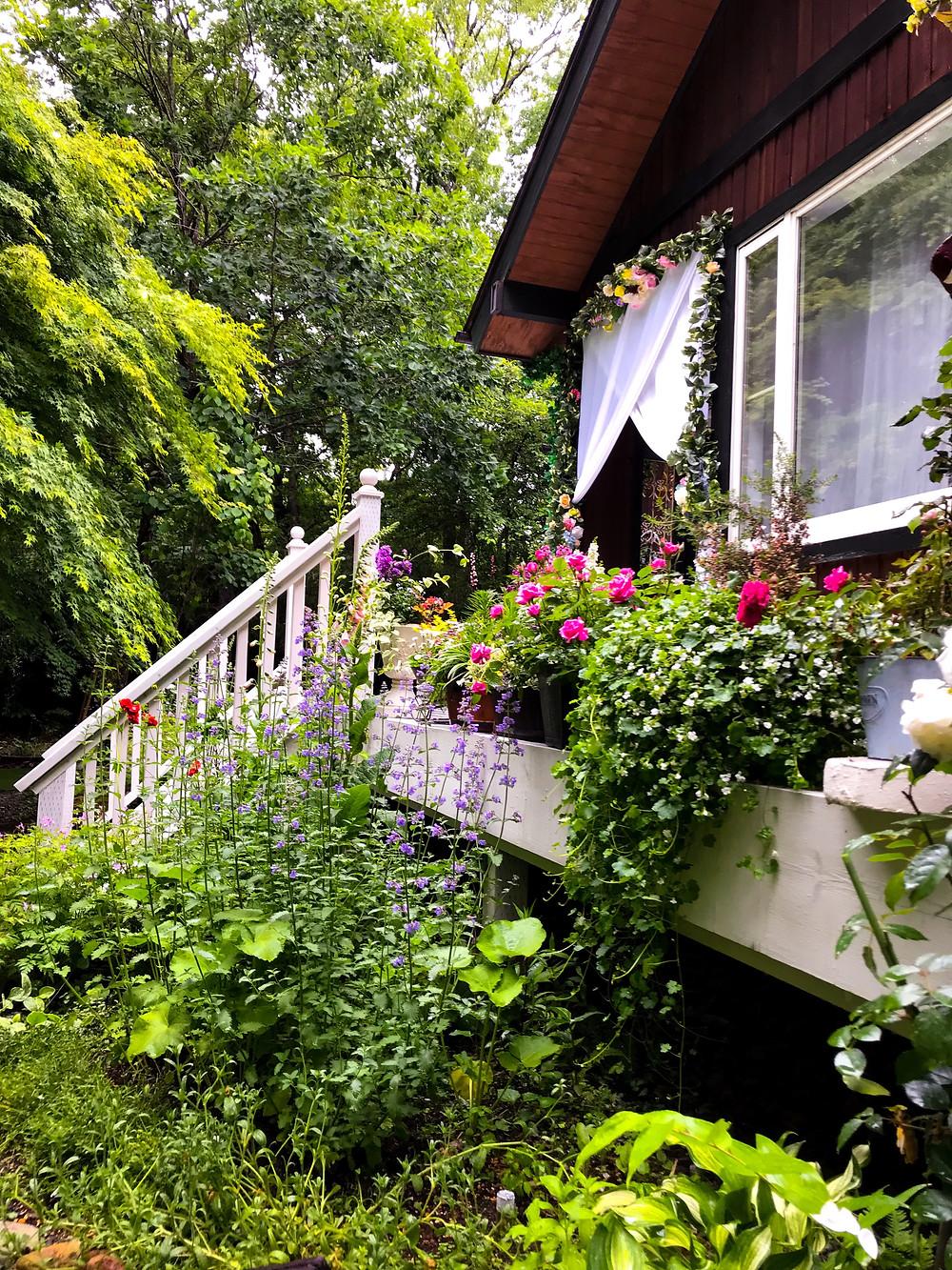 那須 初夏 ガーデン 花