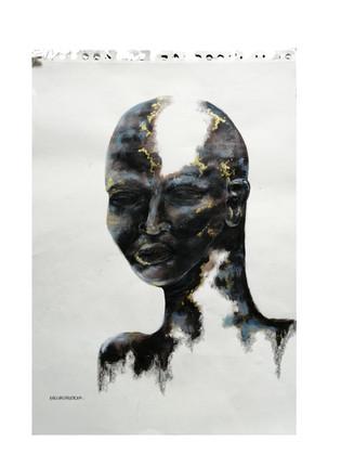 Moindo eza kitoko (Black is beautiful in lingala)