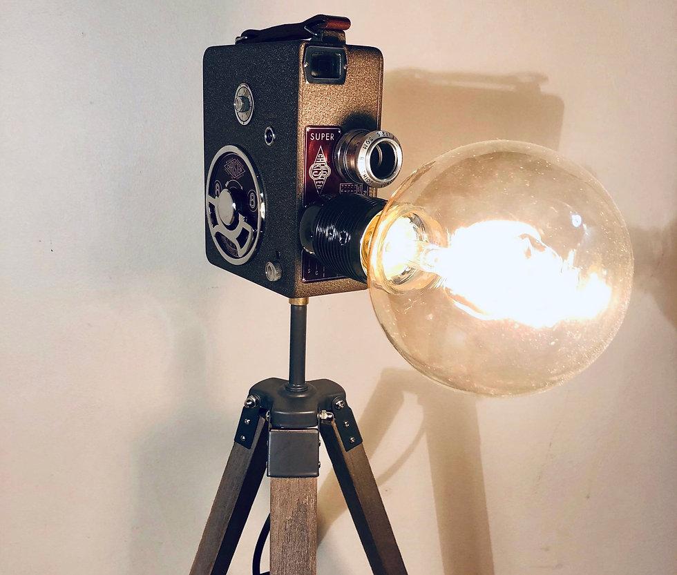 Recette d'une pièce unique - Lampe Cinéma
