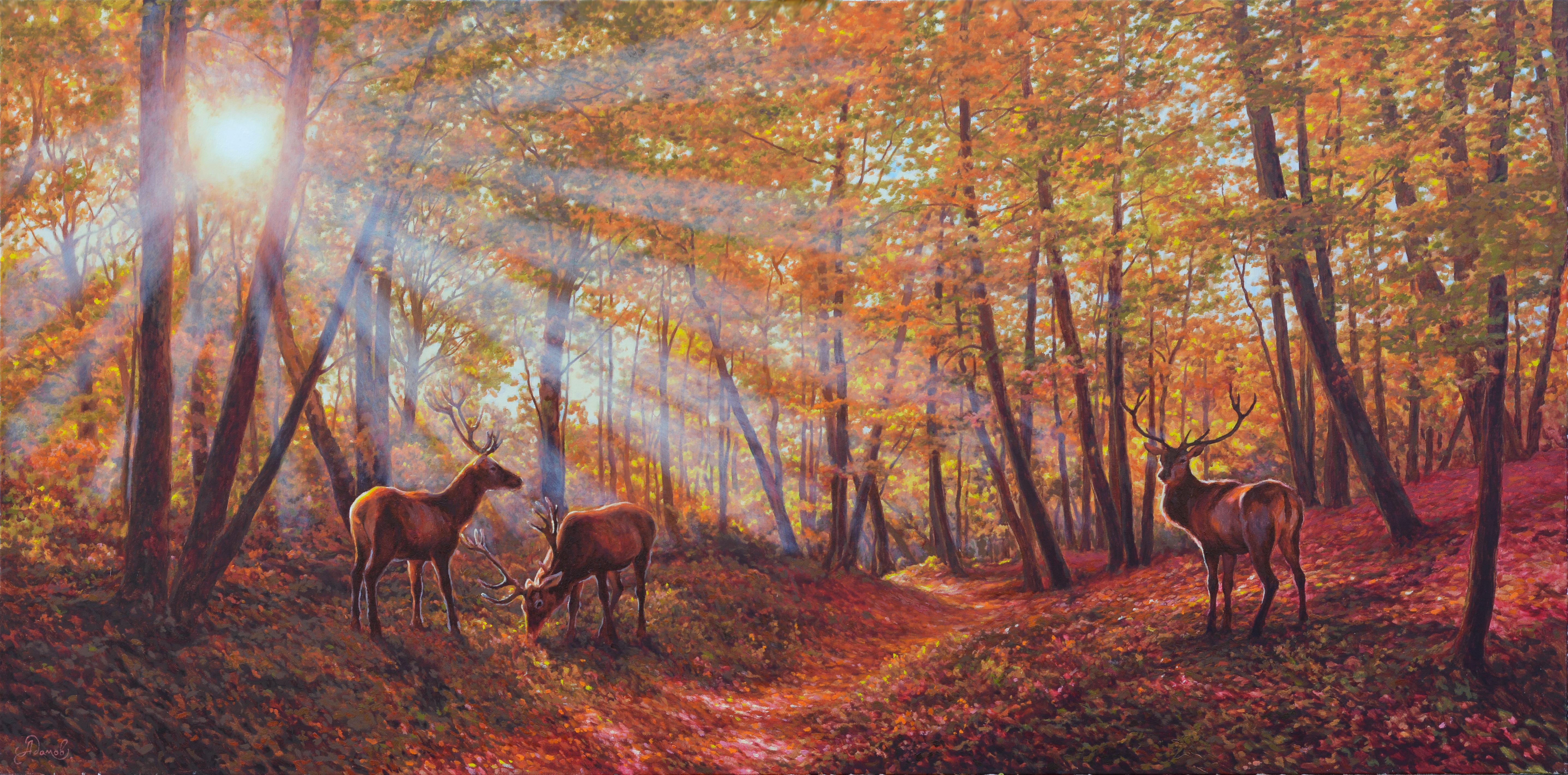 8.100х200 В лесу-