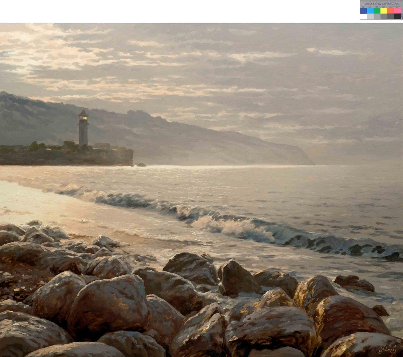 Каменистый берег, 100х120см., х.м., 2007г.jpg