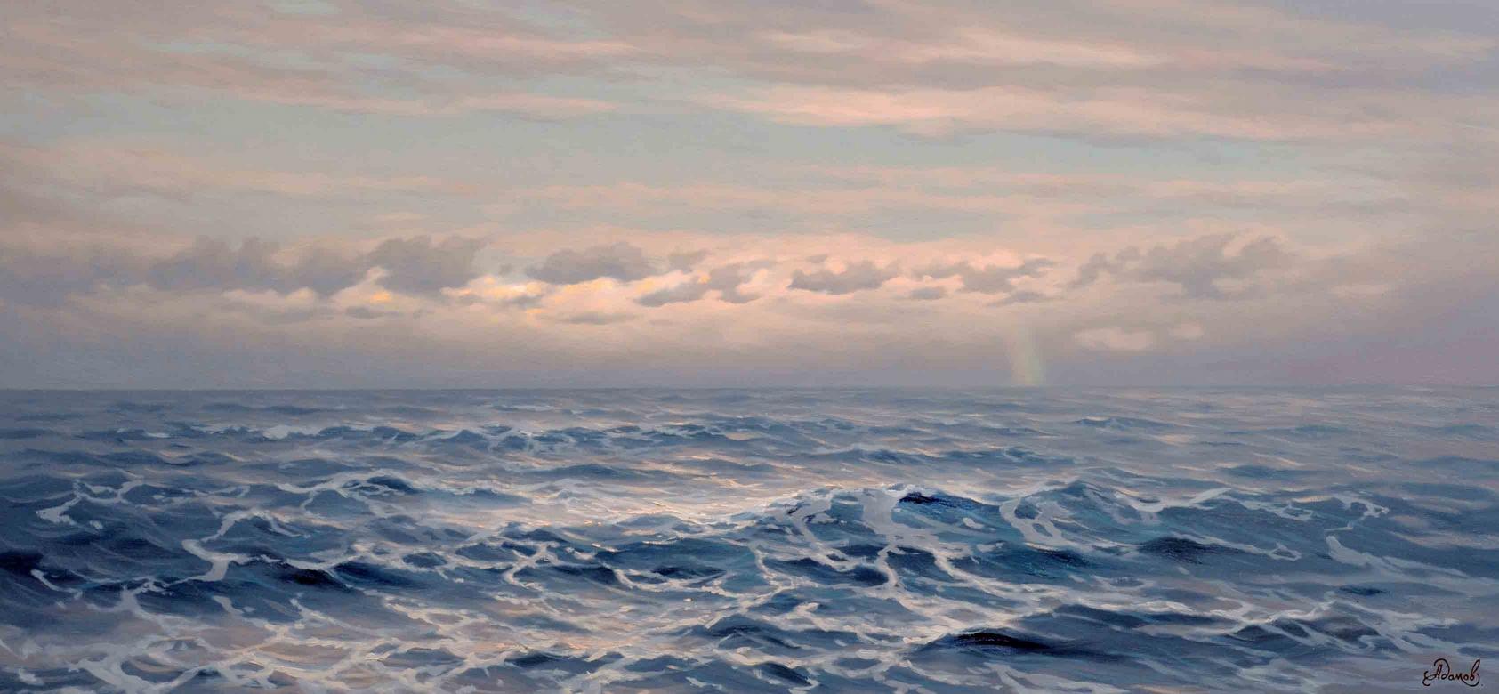Над пучиной волн, 150х70х.м 2006г.jpg