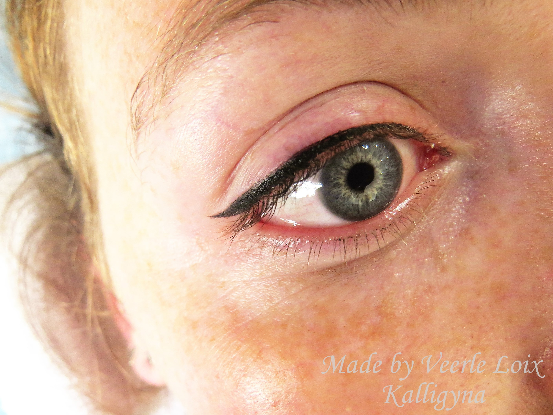Eyeliner met flick