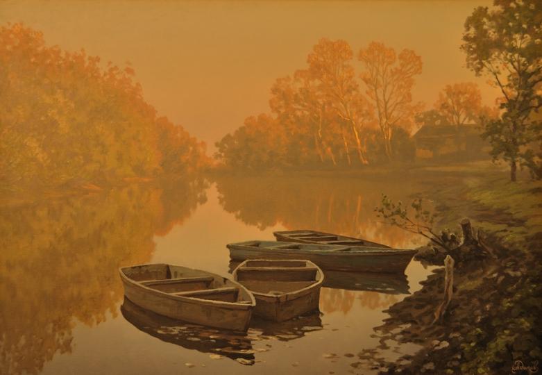 Лодки на рассвете.jpg