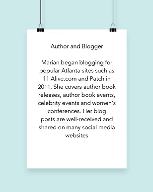 About Author Marian L. Thomas