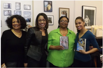 Misty Copeland with Blue Butterfly Book