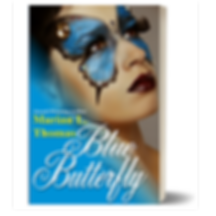 Blue Butterfly by Marian L. Thomas