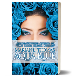 Aqua Blue by Marian L. Thomas