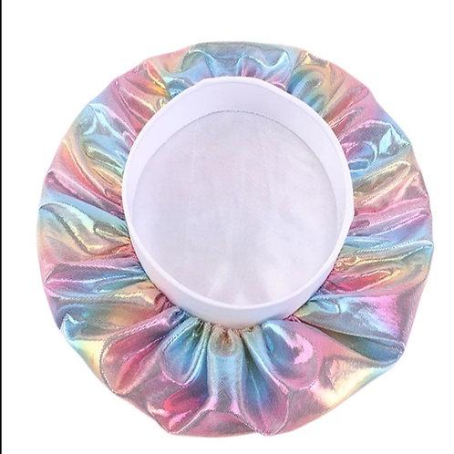Little Queen Rainbow Silk Bonnets