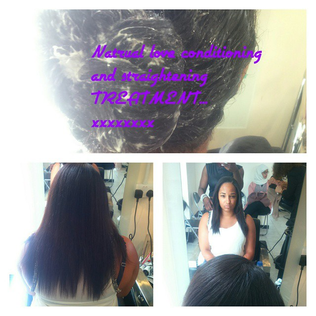 #natrual love #conditioning treatment #softer#tamer#manageable#growth#thickness#freedom#time#Europea