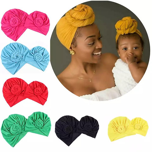 Mummy Queen  and Princess matching turban