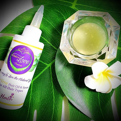Nature's Love Hair Oil and Serum
