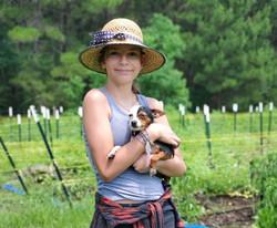 Ms. Elli at the Farm