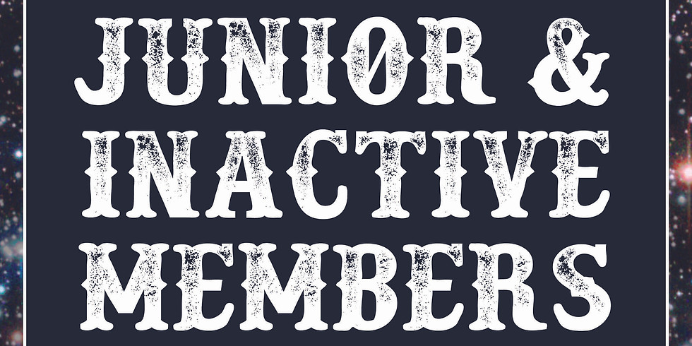 Purchase Junior and Inactive Members Tickets (1)