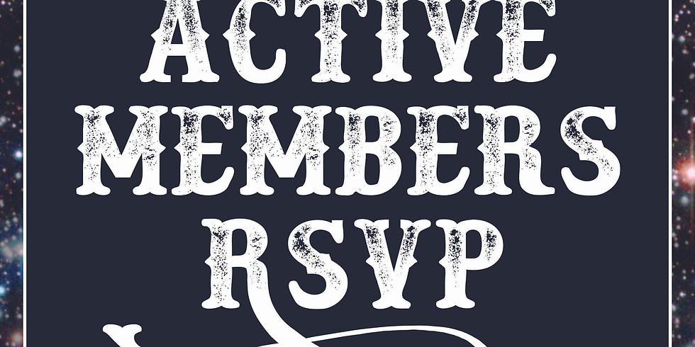 Active Members RSVP
