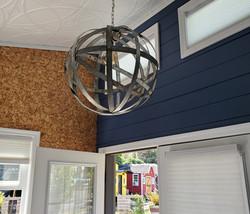 Metal Hoop Lighting