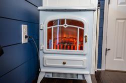 Cozy Warm Fireplace, Very Romantic