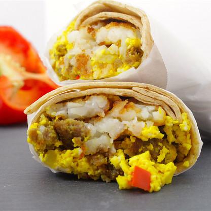 Easy Grab-n-Go Breakfast Burrito
