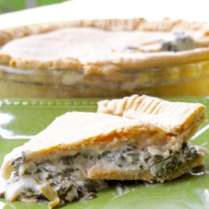 Brazilian Spinach Pie (Torta de Espinafre)