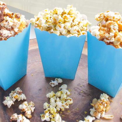 3 Popcorn Recipes! No machine required!