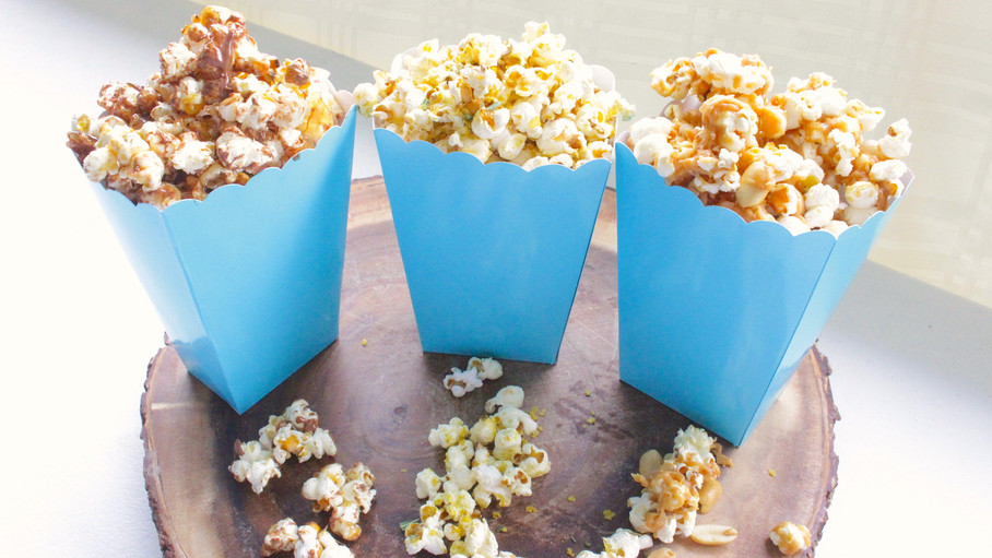 3 Popcorn Recipes! No machine required!