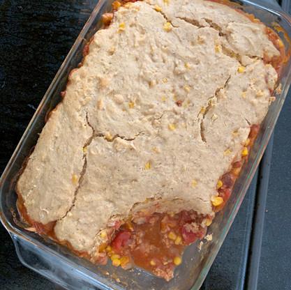 Vegan Cornbread Casserole