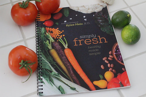 Whole Sale Simply Fresh Cookbook (18 books)