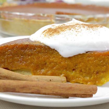 Vegan Pumpkin Pie & Whipped Cream