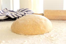 Whole Wheat Vegan Pizza Dough