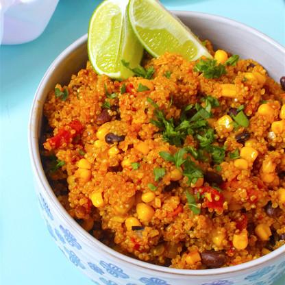 Mexican Quinoa (One-Pot)