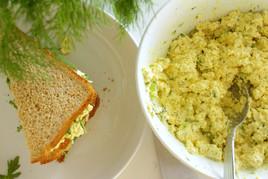 Vegan Egg Salad Sandwich