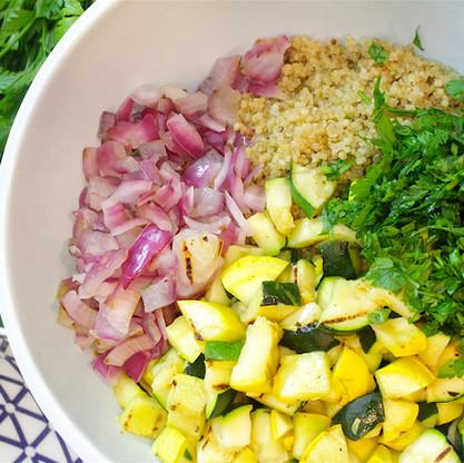 Grilled Quinoa Salad